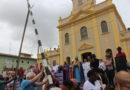 Festa de São Benedito 2019 é iniciada com fixação do mastro e missa