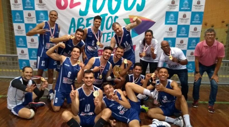 Jogos Abertos faz a grande festa do esporte interiorano