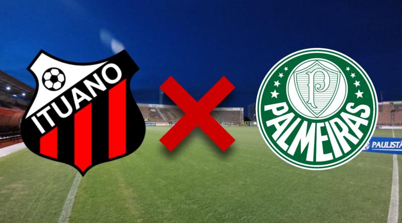 Ituano x Palmeiras: horário, local, escalações e transmissão