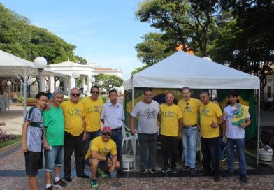Com primo de Bolsonaro, Aliança pelo Brasil colhe assinaturas em Itu