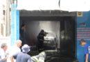 Carro pega fogo em oficina no São Luiz e causa incêndio